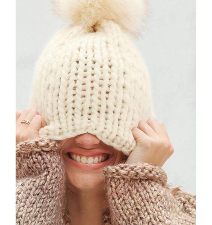 Fiche Modèle bonnet Femme Renée Phil Big Wool
