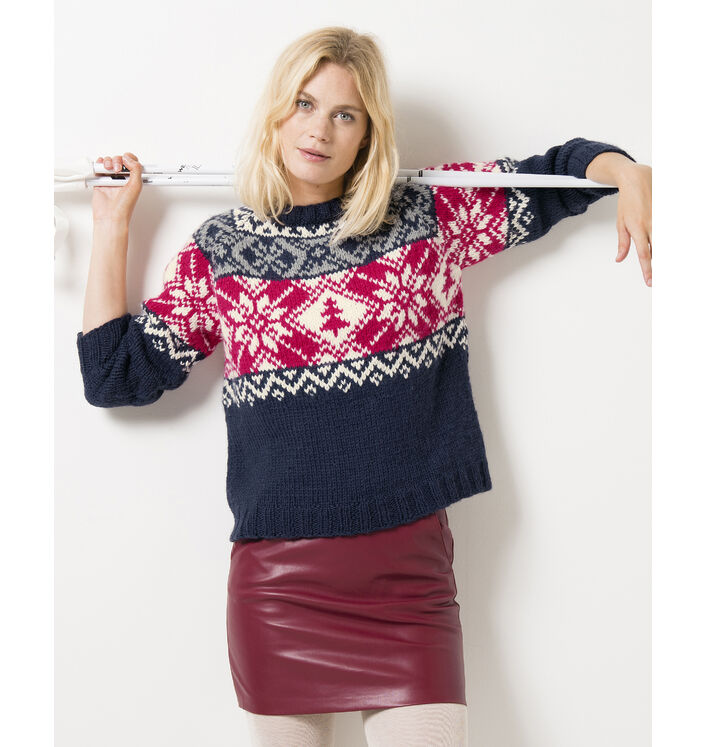 Modèle Pull Femme Donna Phil Looping