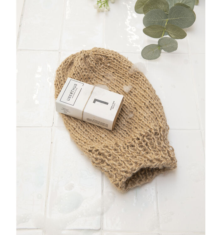KIT DIY - Gant Exfoliant au tricot
