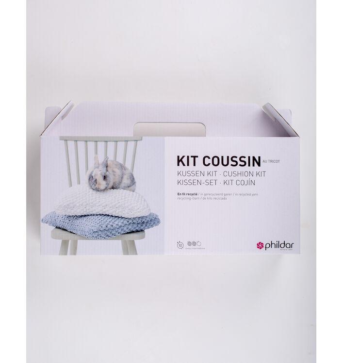 KIT DIY - Coussin tendance au tricot