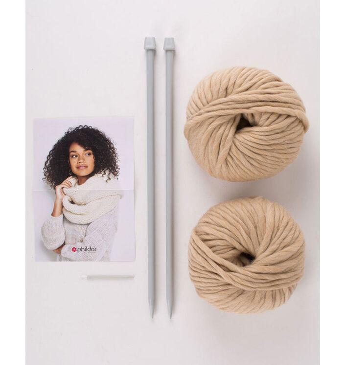Kit diy - snood en phil big wool