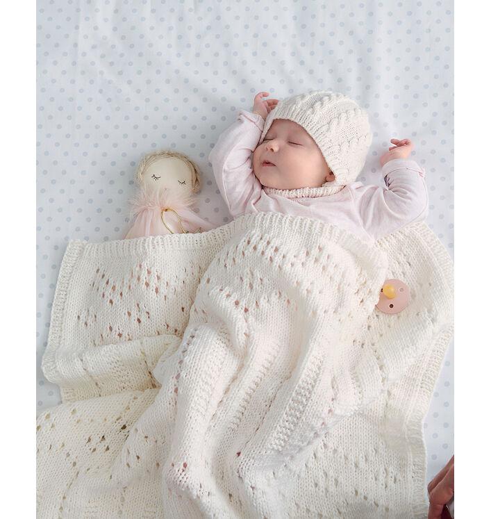 Modèle Couverture Bébé Laurette