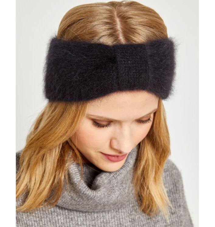 Kit diy - headband pur angora