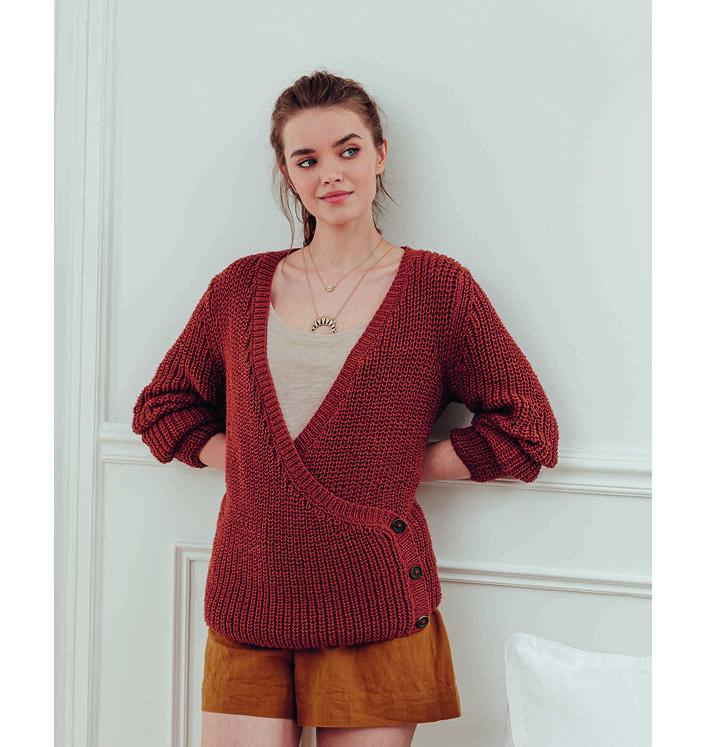 Fiche Modèle Gilet Femme Béa Phil Love Cotton