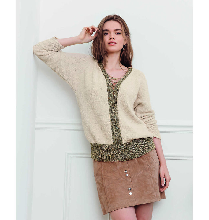Fiche Modèle Pull Femme Phil Baby Doll