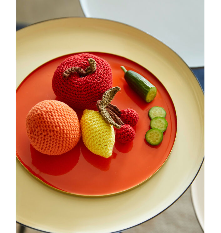 Modèle Fruits DECO Crochet Phil Coton 3