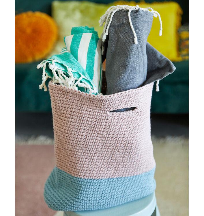 Modèle Femme Cabas Crochet Phil Matelot