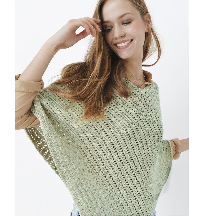 Modèle Poncho Crochet Phil Rustique