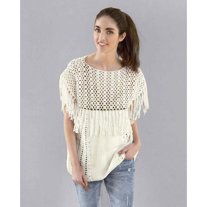 Fiche Modèle Pull Crochet Femme Phil Pétillant