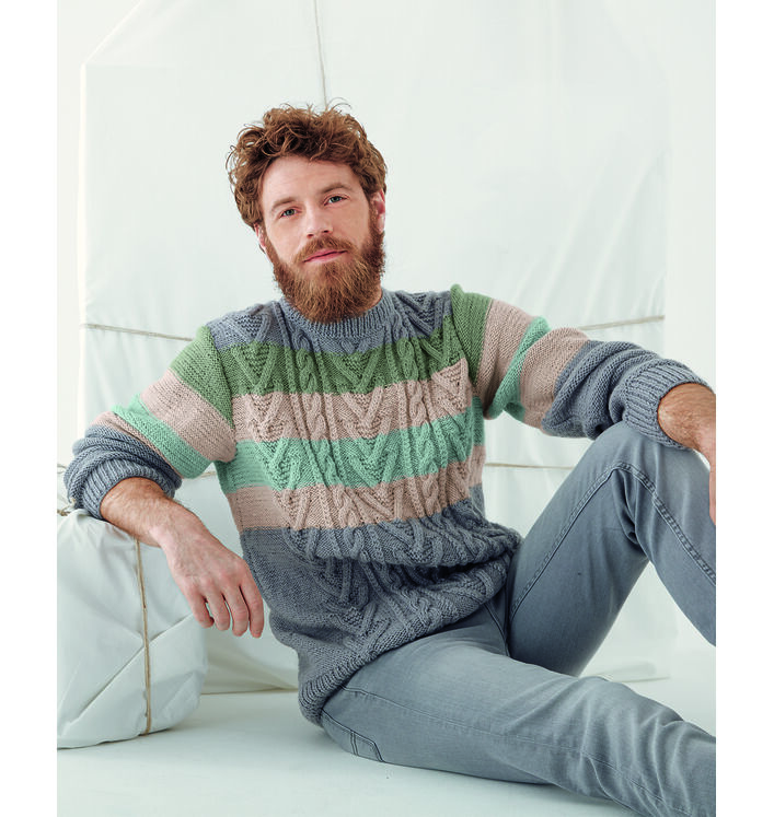 Modèle Pull Homme Hector Phil Ecolaine