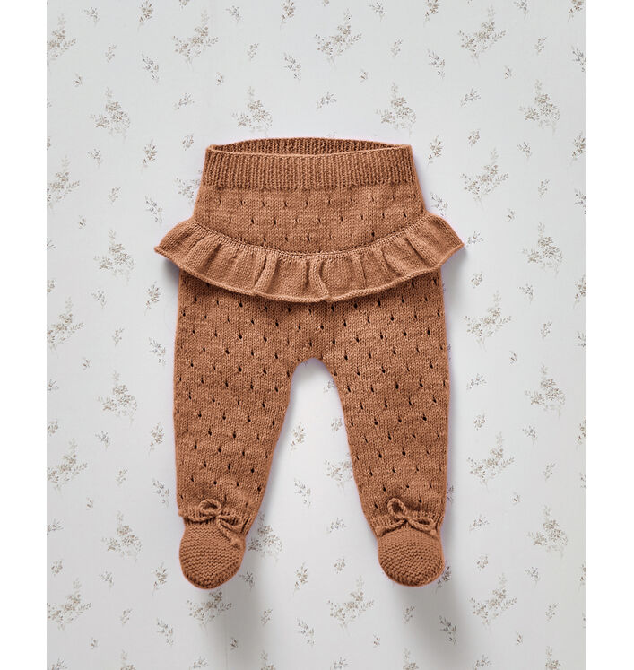 Fiche Modèle Pantalon phil Partner Baby marron