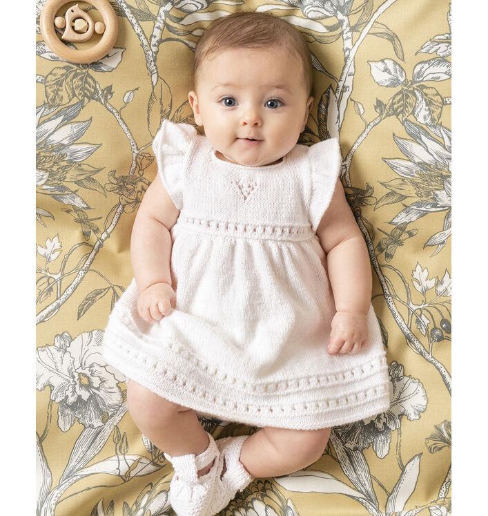 Modèle Robe Bébé Suzanne Phil Super Baby
