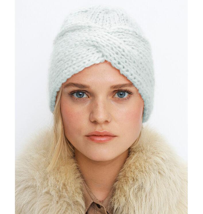 Modèle Bonnet Phil Maxi Mohair Opale