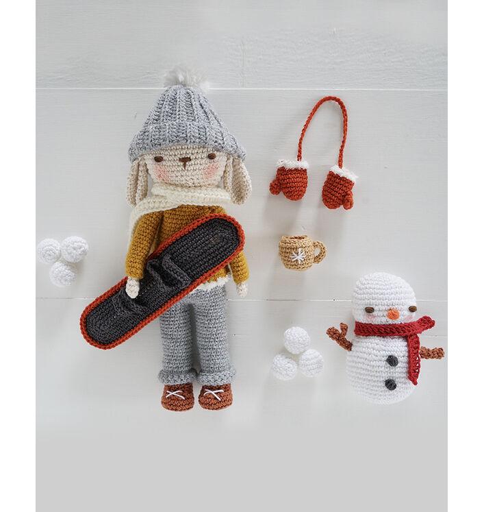 Modèle accessoires Philibert au ski