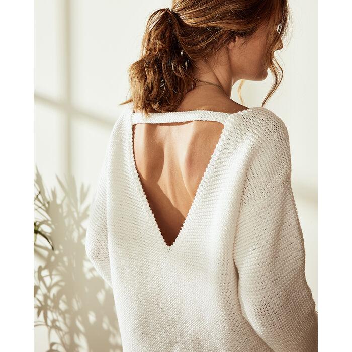 Modèle Pull Femme Pola Phil Love Cotton