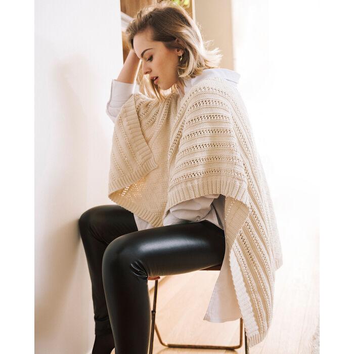 Modèle Poncho Femme Maria Phil Ecocoton