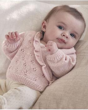Modèle Bébé Rosalie Phil Laine Cachemire