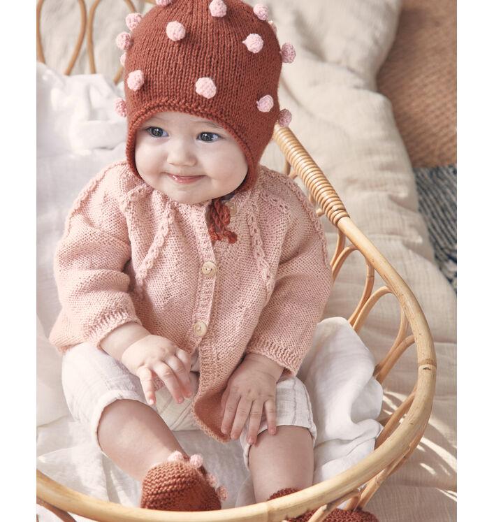 Modèle Cardigan Roxane Phil Super Baby