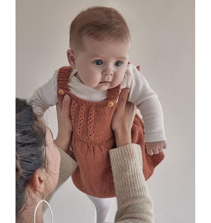 Modèle Robe Bébé Romane Phil Super Baby