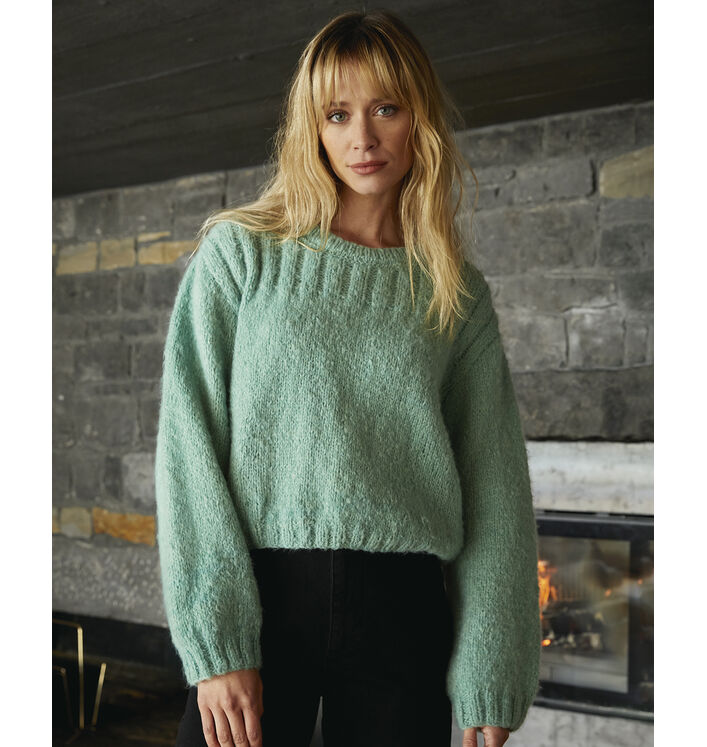 Modèle Pull Femme Saly Phil Gourmand