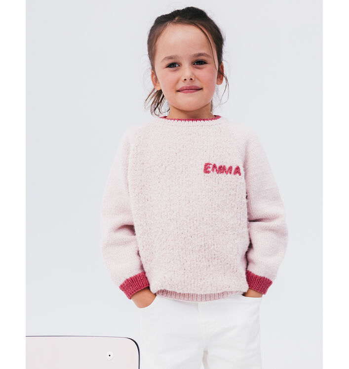 Modèle Pull Fille Emma Phil Chouchou