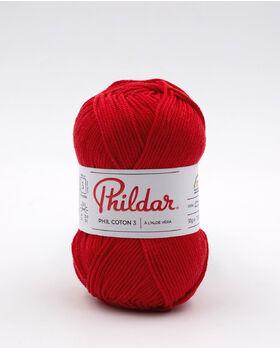 Fil à tricoter PHIL COTON 3