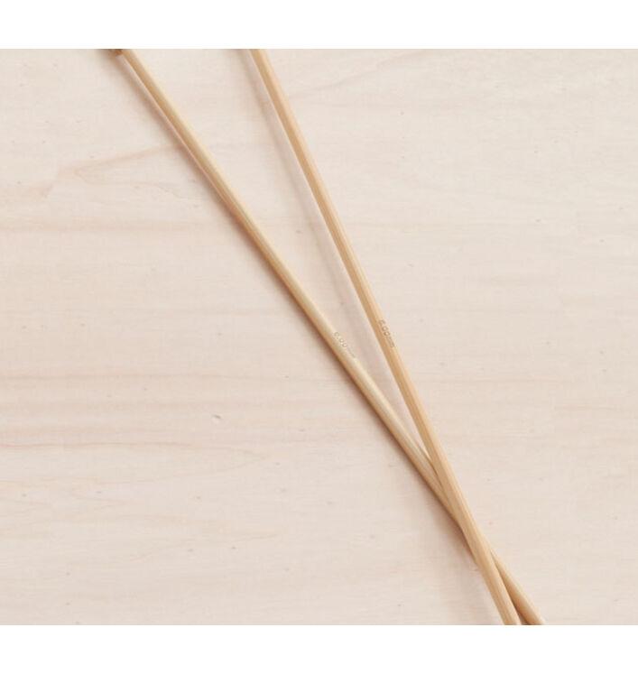 Aiguilles bambou PRYM 33 cm