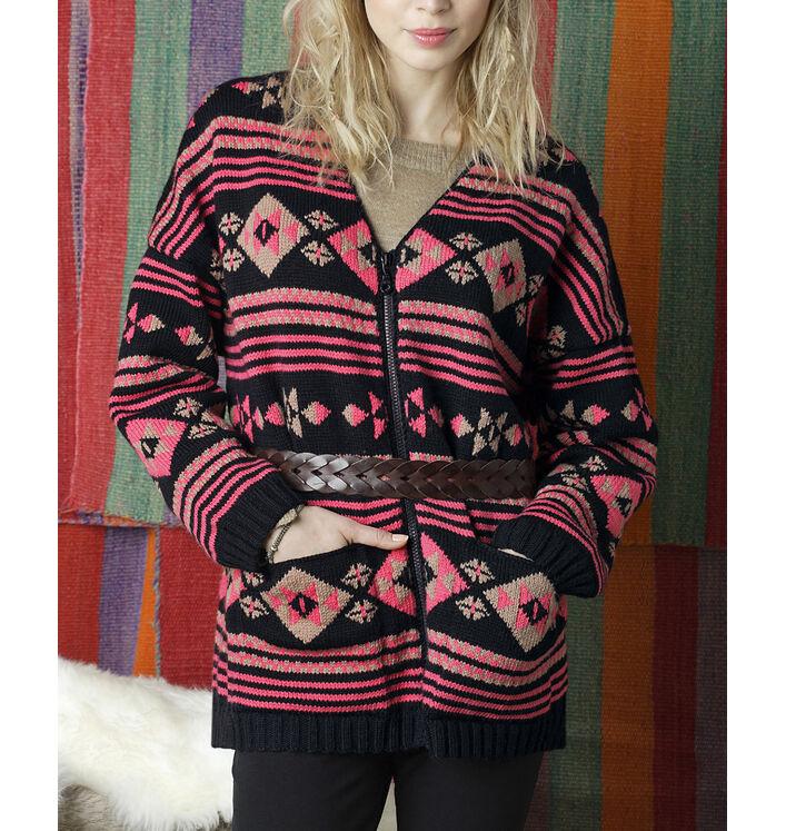 Modèle veste zippée femme
