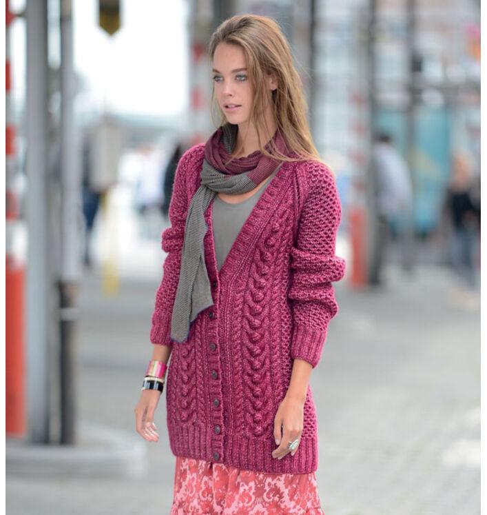 Modèle veste irlandaise femme