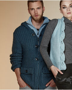 Modèle Duffle Coat Homme - PHILDAR - Modalova