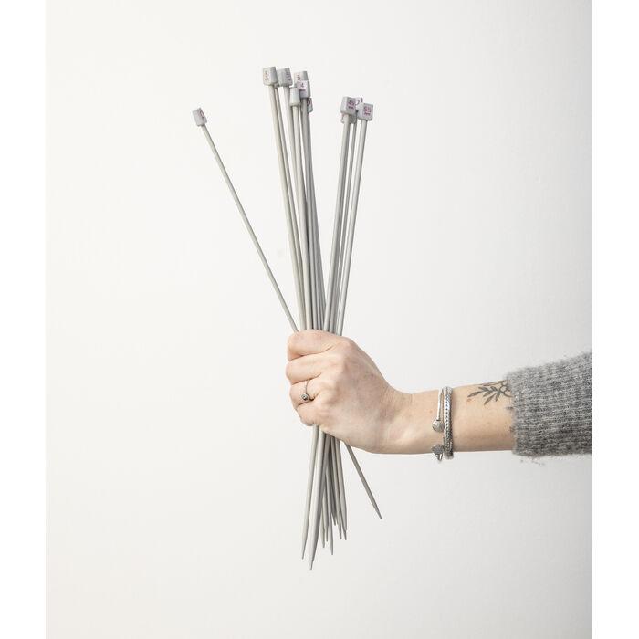 Aiguilles aluminium 40 cm