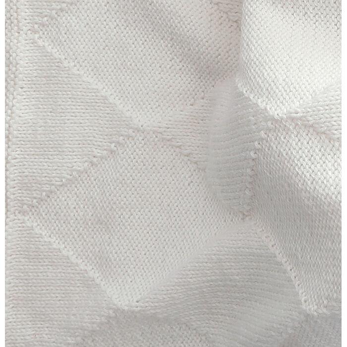 Modèle couverture blanche layette